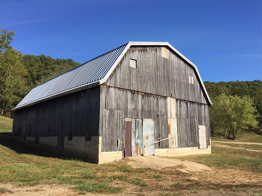 Original ridge creek ranch barn