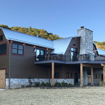 Ridge creek ranch finished building
